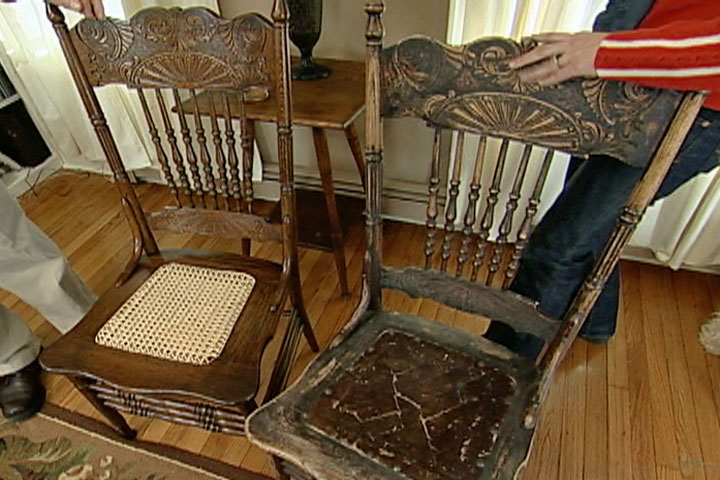 How To Repair And Refinish An Antique Chair Ron Hazelton