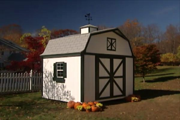 How To Put Up A Garden Shed In The Backyard Ron Hazelton