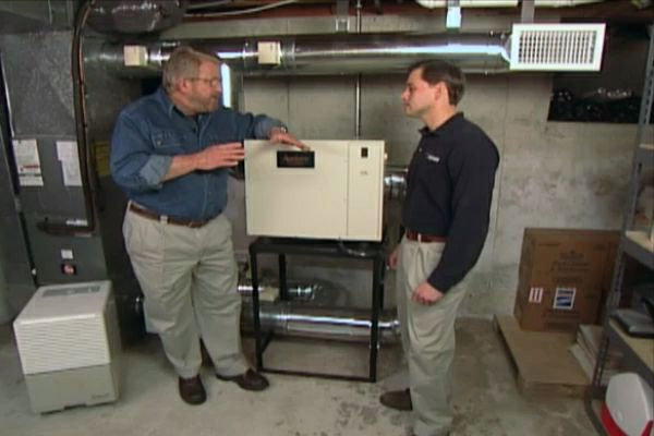 How to Install a Dehumidifier for the Whole House     Ron Hazelton