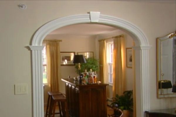 Foyer Interior Kit : How to put in an arched entryway diy projects videos