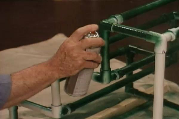 How To Build A Planter From Pvc Pipe Ron Hazelton