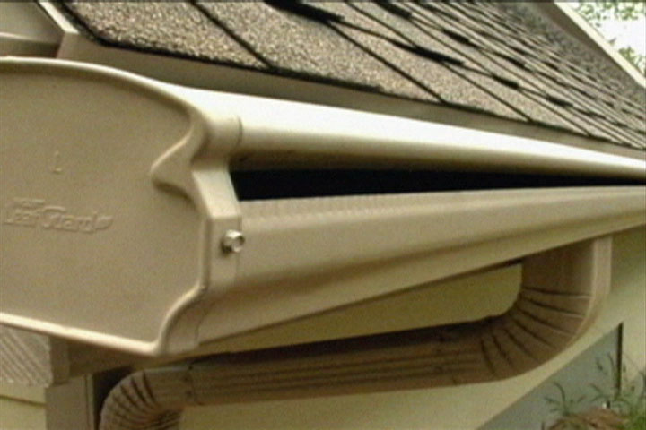 A Covered Gutter System Keeps Out Leaves And Debris Ron